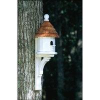 Lazy Hill Farms Small Shingled Bird House