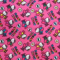 Stwd Hello Kitty Airplanes Crib Sheet