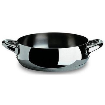 Alessi Mami Round Casserole Size: 7.9-in. D, Color: Mirror Polished