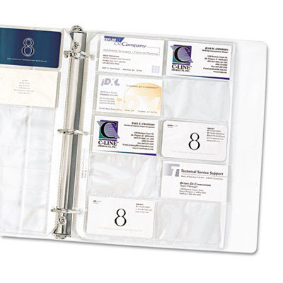 C-Line Business Card Holders - C-LINE PRODUCTS, INC.