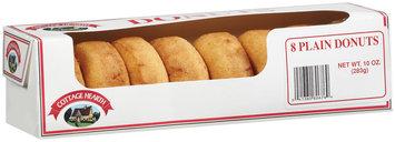 Cottage Hearth Plain Donuts 8 Ct Box