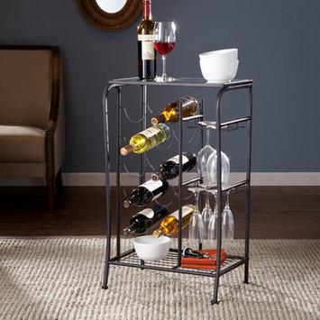 Red Barrel Studio Alzado 10 Bottle Wine Rack Finish: Black