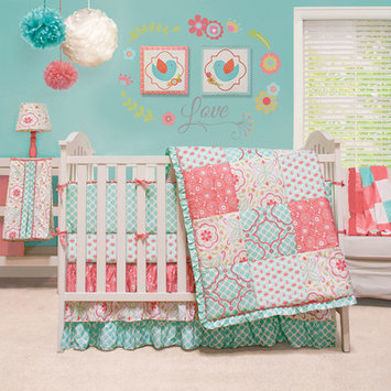 The Peanut Shell Mila 4 Piece Crib Bedding Set