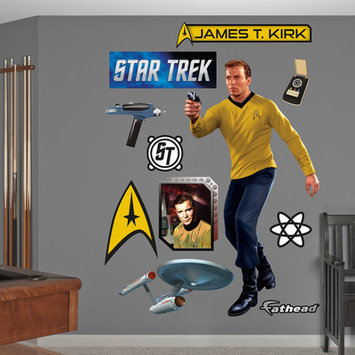 Original Captain James T. Kirk Fathead