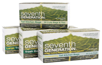 Seventh Generation Trash Bags Group Household Products