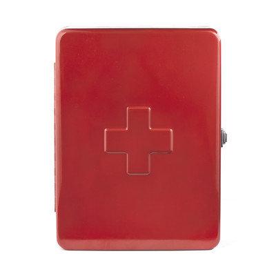 Kikkerland First Aid Box Finish: Red