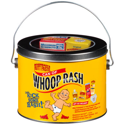 Boudreaux's Butt Paste® Can of Whoop Rash™ Gift Set 5 Piece Can