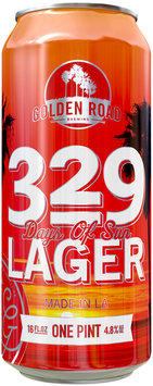 329 Days of Sun Lager Beer 16 fl. oz. Can