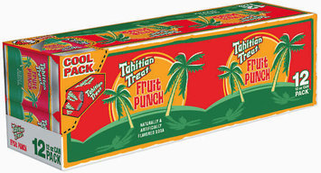 Tahitian Treat 12 Oz Cool Pack Fruit Punch 12 Pk Cans