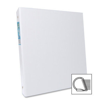 Aurora Products AUA09071 Elements White D-Ring Binders