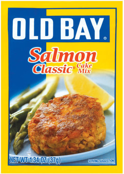 Old Bay Cake Mix Salmon Classic 1.34 Oz Packet