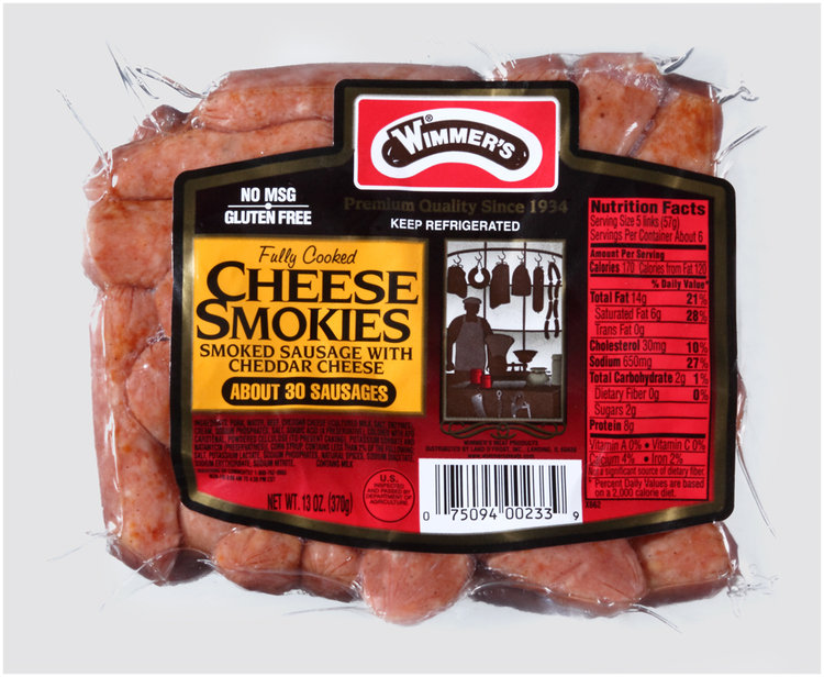 Wimmer's® Cheese Smokies Smoked Sausage with Cheddar Cheese
