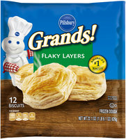 Pillsbury Grands!® Flaky Layers Biscuits 12 ct Bag