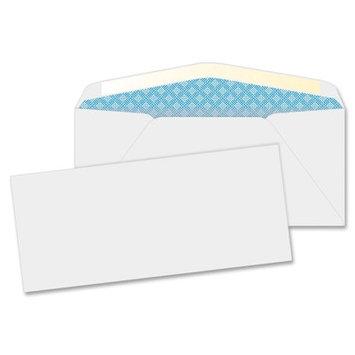 Business Source Business Envelopes, Security, No. 10, 20lb, 40/BX