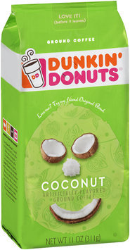 Dunkin' Donuts® Coconut Ground Coffee
