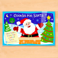 Olive Kids Cookies for Santa Personalized Placemat