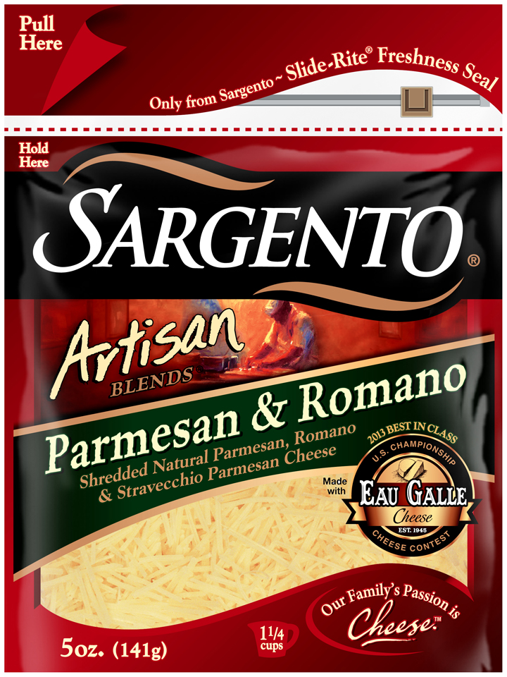 Sargento® Artisan Blends® Parmesan & Romano Shredded Cheese