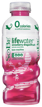 SoBe® LifeWater® 0 Calorie Strawberry Dragonfruit Water Beverage 20 fl. oz. Plastic Bottle