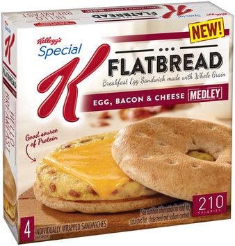 Kellogg's® Special K® Flatbread Egg Bacon & Cheese Sandwiches 4 ct Box