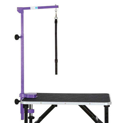 Master Equipment Foldable Grooming Arm Pur Color: Purple 33.5In. X 8.3In. X 5.8In.
