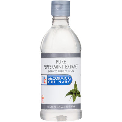 McCormick® Culinary™ Pure Peppermint Extract 16 fl. oz. Bottle