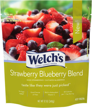 Welch's Strawberry Blueberry Blend 12 oz. Stand-Up Bag