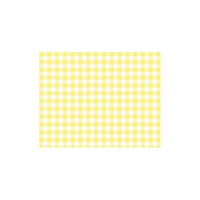 Stwd Pastel Gingham Woven Portable Mini Fitted Crib Sheet Color: Yellow