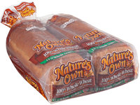 Nature's Own® 100% Whole Wheat Bread