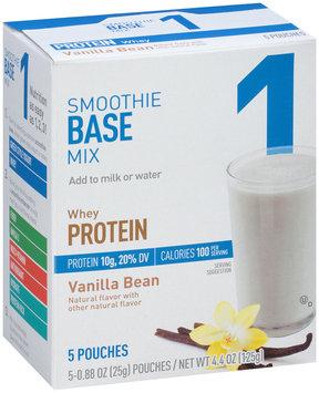 Smoothie Base Mix 1 Whey Protein Vanilla Bean 5-0.88 oz. Pouches