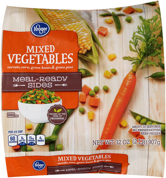 Kroger® Meal-Ready Sides Mixed Vegetables 32 oz. Bag