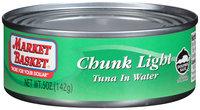 Market Basket® Chunk Light Tuna in Water 5 oz. Can