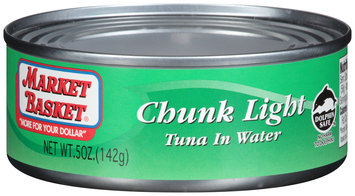 Market Basket® Chunk Light Tuna in Water