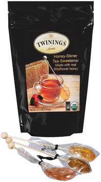 Twinings of London Made W/Real Wildflower Honey Honey-Stirrer Tea Sweetener 5.7 Oz Stand Up Bag