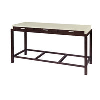 Allan Copley Designs 3403-03 Spats 3 Drawer Rectangular Console Table in Espresso