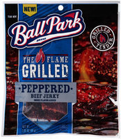 Ball Park® The Flame Grilled Peppered Beef Jerky 2.85 oz. Bag