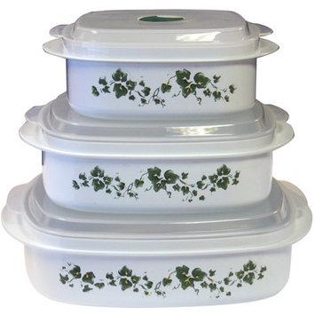 Reston Lloyd Corelle Coordinates Callaway Microwave Cookware Set 6pc