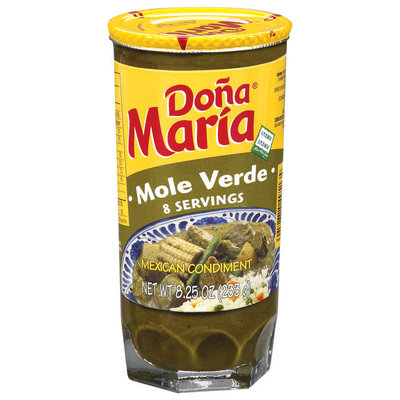 Dona Maria® Mole Verde Sauce 8.25 oz. Jar