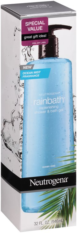 Neutrogena® Rainbath® Replenishing Ocean Mist Shower & Bath Gel 32 fl. oz. Bottle
