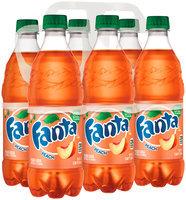 Fanta® Peach Soda 6-16.9 fl. oz. Plastic Bottles