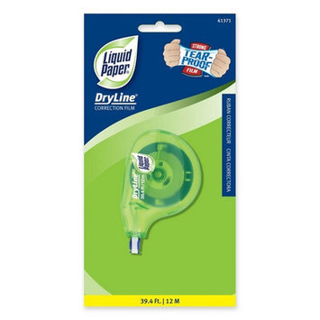 Papermate Pap-6137106 Paper Mate Dry Line Correction Tape - 5mm Width X 39ft Length - Tear Resistant Non-refillable (pap6137106)