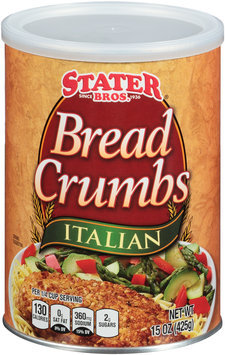 Stater Bros.® Italian Bread Crumbs 15 oz. Canister