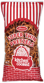 Kitchen Cooked Classic Super Thin Pretzels 15 oz. Bag