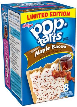 Kellogg's Pop-Tarts Frosted Maple Bacon Toaster Pastries