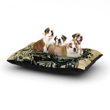 Kess Inhouse 'Sound of Nature' Dog Bed, 40 L x 30 W