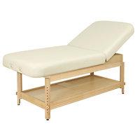 Oakworks Clinician Adjustable Lift Assist Backrest Top Color: Opal