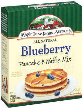 Maple Grove Farms Blueberry Pancake & Waffle Mix 24 Oz Box