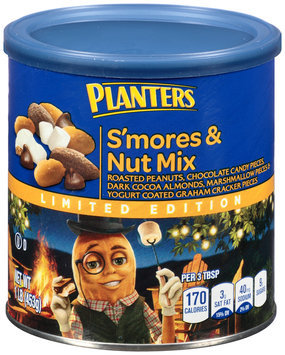 Planters Limited Edition S'mores & Nut Mix Canister