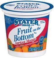 Stater Bros. Fruit On The Bottom Low Fat Apricot Mango Yogurt 6 Oz Cup