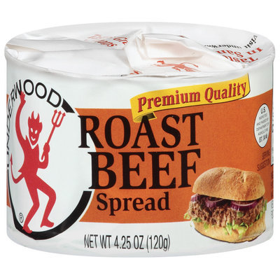 Underwood Roast Beef  Spread 4.25 Oz Pull-Top Can