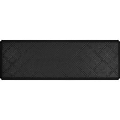 Wellness Mat Llc Wellness Mats Motif MM62WMR Moire Anti Fatigue Mat Black